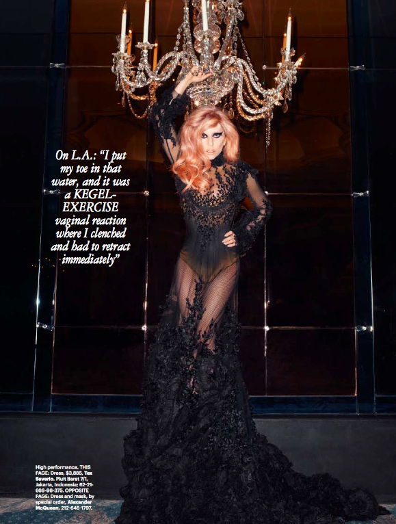 First Look: Lady Gagas Dog Asia Covers Harpers Bazaar